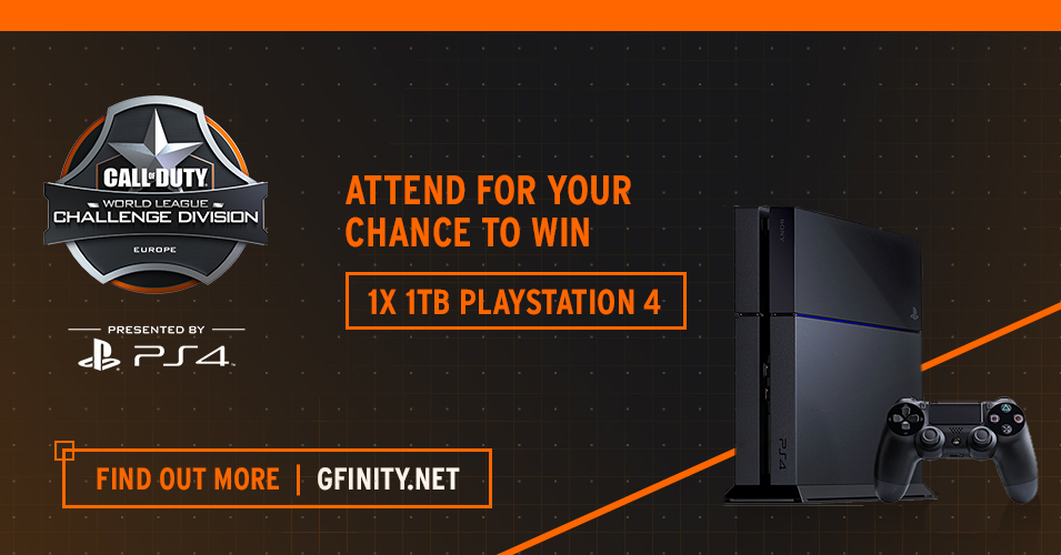Attend the CWL Summer Masters to win a PS4 1TB!