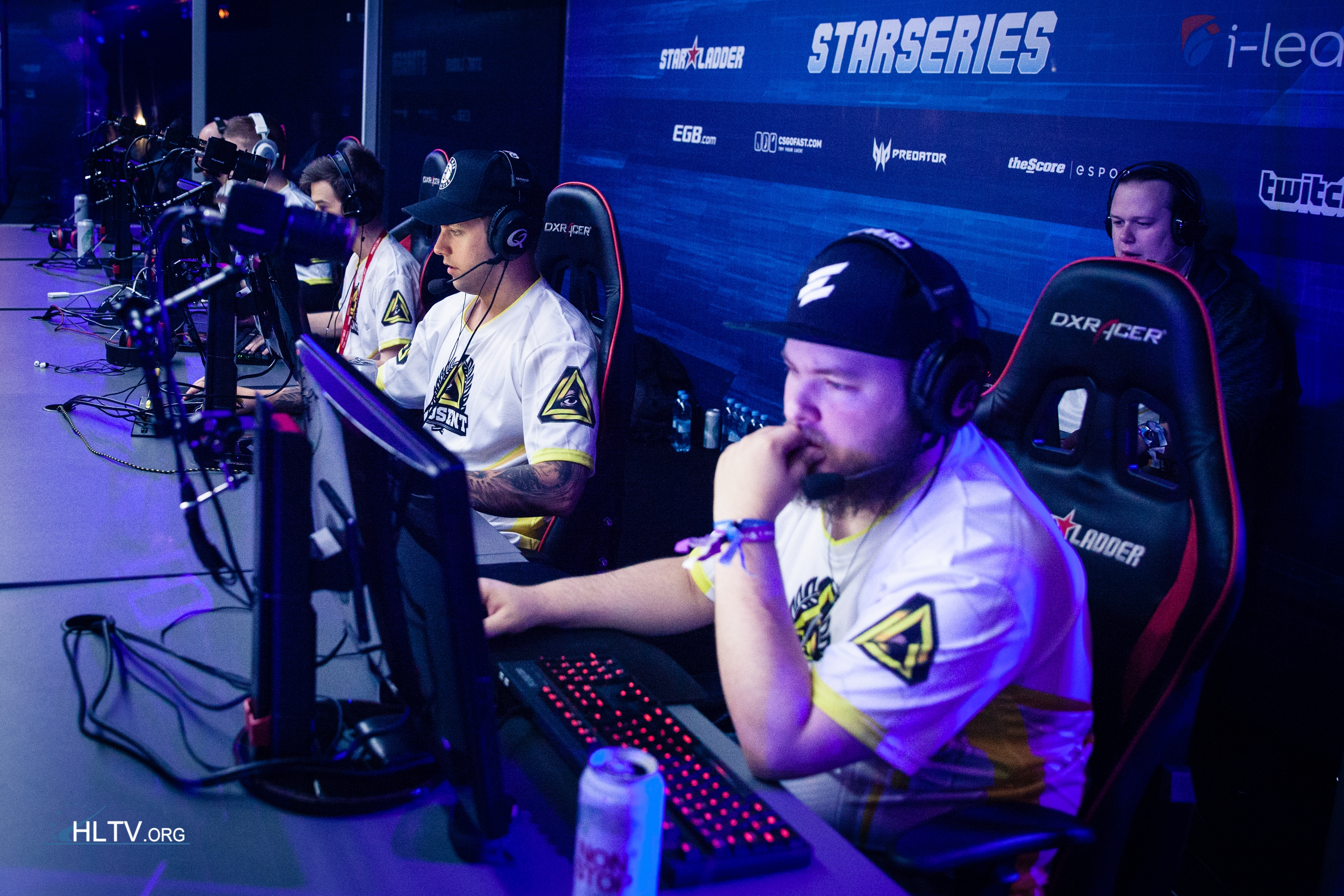 GODSENT at the StarLadder i-League StarSeries Season 2 - Courtesy of HLTV.org