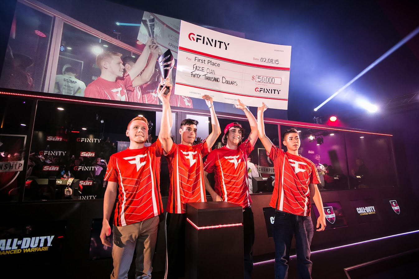 Your Call of Duty Summer Championship Victors - FaZe!