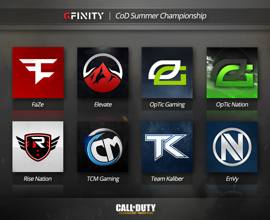 announcing the second batch of cod summer championship teams