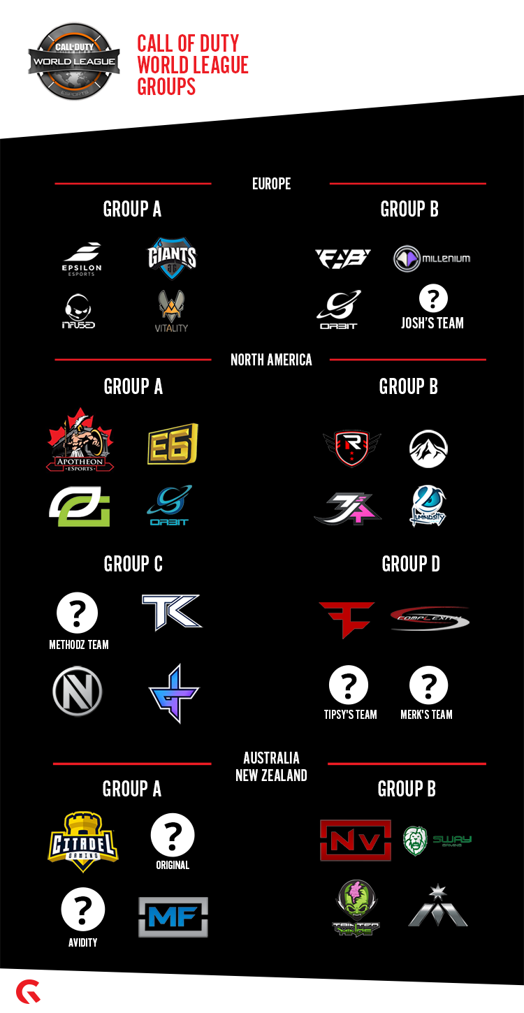 Preliminary Cwl Ruleset And Official Groups Announced News Gfinity