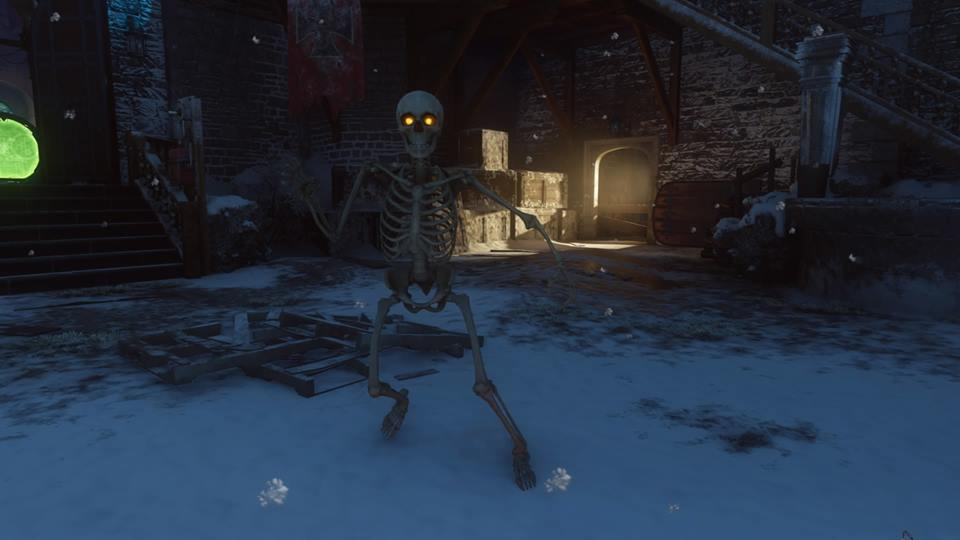 Call of Duty: Black Ops 3 Zombies: Der Eisendrache Skeleton Easter ...