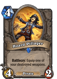Hearthstone Hoard Pillager