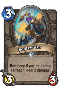 Hearthstone Scalerider