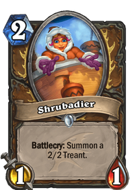 Hearthstone Shrubadier