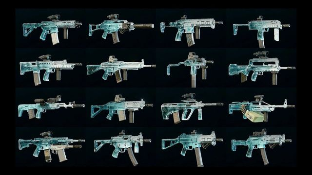Thanks to Desmond lkf, here's what the skin looks like on plenty of weapons