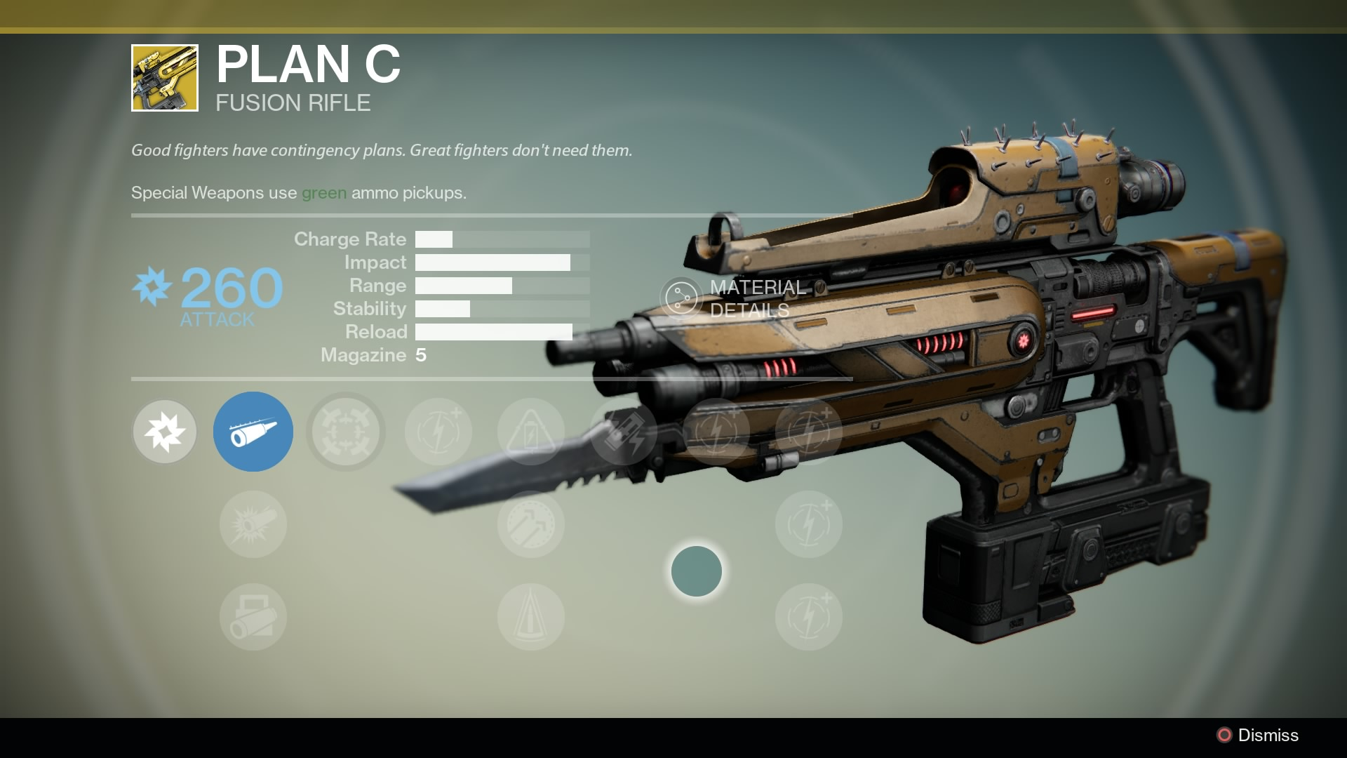 Best destiny primary weapons as of july 2015 -