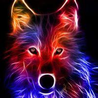 LightningWolf ⚡🐺 logo