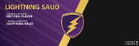 Lightning Saud⚡️ logo